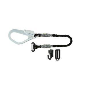 TAJIMA(タジマ) 安全帯 一本吊り専用 2丁掛けロープL1 80cm ランヤード R80L1 [落下防止 電気工事 高所での安全作業] ficst