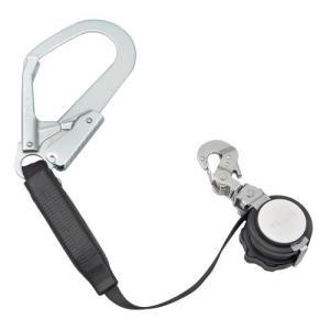 TAJIMA(タジマ) 安全帯 一本吊り専用 VR150FL1 ハーネス用ランヤード VR150FL1 [落下防止 電気工事 高所での安全作業] ficst