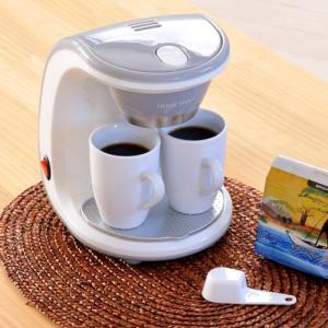 新津興器 コーヒーメーカー 2カップ SCM-02 マグカップ2個付属|ficst|02