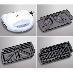 【数量限定セール】ホットサンドメーカー たい焼きプレート付き SHS-40|ficst|02