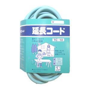 タイカツ 延長コード TC-10 15A・3m・3ツ口|ficst