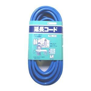 タイカツ 延長コード TC-11 15A・5m・3ツ口|ficst