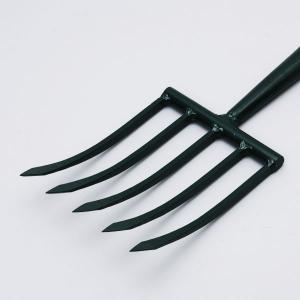 相田合同 千成(SENNARI) ごっそり掘り掘りフォーク 5本刃 木柄 AD-806 [鍬 収穫 土起こし 園芸 農具 農業 家庭菜園]|ficst