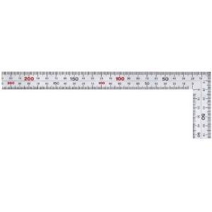 【在庫限り】新潟精機 シルバー曲尺 厚手広巾 鉄工用 30cm 銀龍 MT-30|ficst