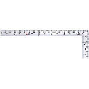 【処分品につき特別価格】新潟精機 高精度 シルバー曲尺 大工用 1尺5寸 紫龍 FSC-15S|ficst