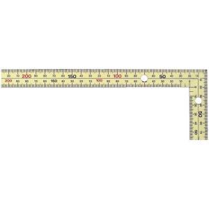 新潟精機 黄金曲尺 厚手広巾 マグネット付 鳶 30cm GWT-30CMG|ficst