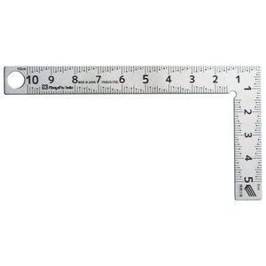 新潟精機 【快段目盛**かいだんめもり**】カーペンターミニ 同厚10cm CM-10KD 曲尺 さ...