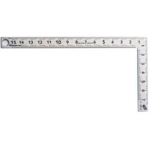 新潟精機 【快段目盛**かいだんめもり**】カーペンターミニ 同厚15cm CM-15KD 曲尺 さしがね 小型|ficst
