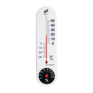 新潟精機 温湿度計 快段目盛 縦型 白 SK 新潟精機-1721KD|ficst