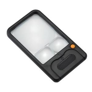 新潟精機 LEDライトルーペ カードタイプ LL-357|ficst
