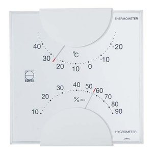 EMPEX エルム温・湿度計 LV-4901|ficst