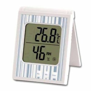 EMPEX  ソーラー温湿度計(アクアブルー) TD-840|ficst