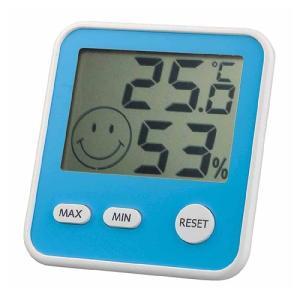 エンペックス (EMPEX) おうちルーム デジタルmidi温湿度計 TD-8416 ブルー|ficst