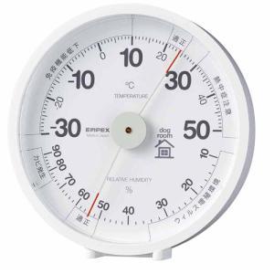 エンペックス気象計 おうちルーム温湿度計 ペット(犬)室内飼育用 TM-6341|ficst