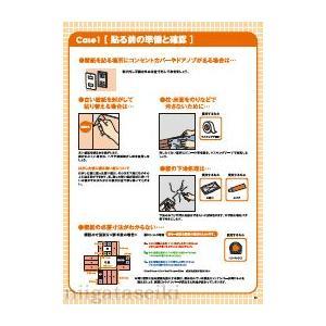 【処分品につき特別価格】DIY初心者にも安心!壁紙の張り替えがマスターできるDIYツールテキスト 壁紙編 TSB-13WP ficst 03