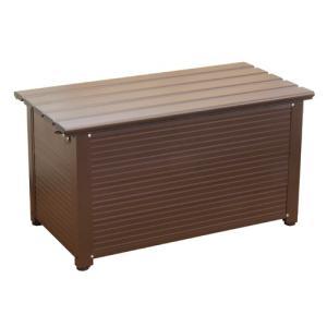 アルミベンチストッカ 90cm ALBS-90 PAOCK(パオック) [収納 ボックス 片付け 清掃 エクステリア 在宅]|ficst