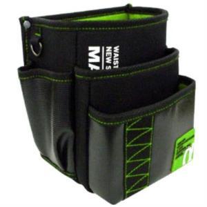 MARVEL(マーベル) ポケット・安全サポート WAIST GEAR 腰袋 三段タイプ MDP-93A G・グリーン|ficst