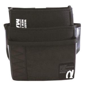 MARVEL(マーベル) ポケット・安全サポート WAIST GEAR 腰袋 ワイド三段タイプ MDP-93ABKL|ficst