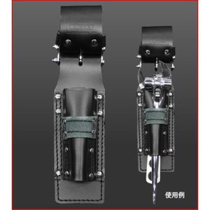 KNICKS(ニックス) チェーン式 モンキー・シノ付ラチェットホルダ 黒 KB-201MSDX|ficst