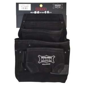KNICKS(ニックス) 2x4工法用釘袋 KCA-6502B [スエード 腰袋 作業用品]|ficst