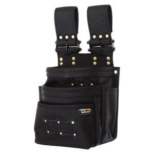 KNICKS(ニックス) チェーンタイプオールバリスティック3段腰袋 BA-301DDX [腰袋 作業用品]|ficst