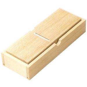 小柳産業 鰹節削器 薄型ミニ鰹箱(蓋なし) No01015|ficst