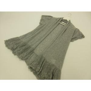 商品説明 袖口と裾のレース編みが可愛い、ナチュラルな雰囲気の薄手カーディガンです。長め丈でさらっと羽...