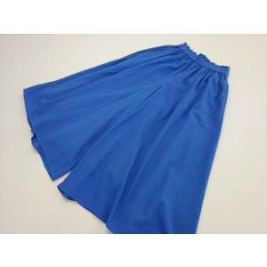 シェアパーク SHARE PARK ヴィンテージウォッシュコットン ワイドパンツ size0 ブルー...