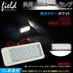 汎用 LED ルームランプ 増設キット ホワイト 白 33連 SMD 室内 本体カラー ホワイト ルームランプ カスタム 増設用 LEDランプ トラック ラゲッジランプ|field-ag