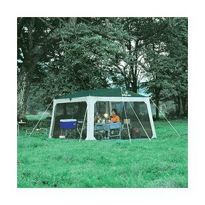 テント タープ シェード キャンプ バーベキュー BBQ キャプテンスタッグ ワンタッチ タープ セット プレーナメッシュタープセット ( AP00372 / M-3154 )|fieldboss
