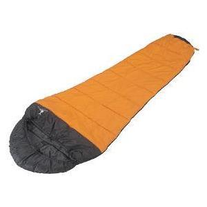 アクティブシュラフ 600(オレンジ) (AP00446/M-3439)(分類:スリーピングバッグ/寝袋/シュラフ) (キャプテンスタッグ)(QBJ37) fieldboss