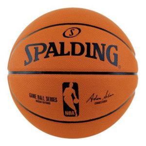 バスケットボール 5号 バスケ スポルディング オフィシャルNBAレプリカボール 7号 (83-044Z-7 SP10245083)(スポルディング バスケット ボール)(QBJ37)|fieldboss