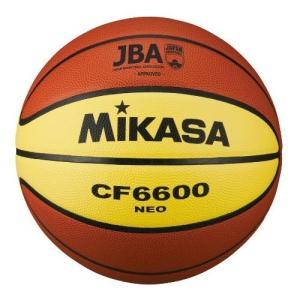 ミカサ バスケットボール 検定球6号 ブラウンxイエロー ( CF6600-NEO / MKS10252222 )( ミカサ バスケットボール )(QBJ37)|fieldboss