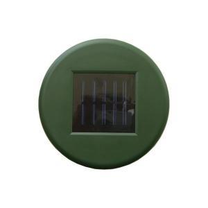 ソーラー式・アルミモグラ防除器 ディープグリーン ( '4935682022629 / ATC10262314 )( コンパル )(QBH33)|fieldboss|02
