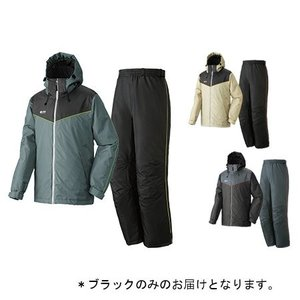 防水防寒スーツ オーウェン ブラック/Lサイズ ( 30336712 / HN10287391 )( ロゴス )(QBH33)|fieldboss
