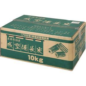 業務用成型備長炭10Kg (KA103506/BD-361)( 備長炭 炭 木炭 練炭 燃料 着火剤...