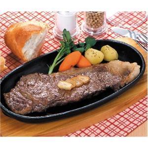 鉄板 ステーキ皿 家庭用 IH 対応 皿 パール金属 鉄鋳物製 2枚組 セット ( AP10361479 / HB-3026 )|fieldboss|05