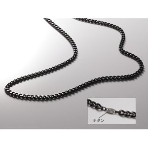 TC00 炭化チタンチェーンネックレス 65cm PHITEN ネックレス チェーンネックレス (P...
