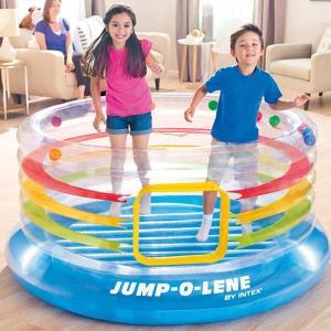トランポリン 子供 U-48264 トランスパレントリングジャンプオーレーン インテックス ジャンプ ボールプール (CAG)(QBJ07)