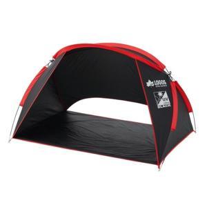 71809023 Black UV パラシェード(180×125cm)-AG LOGOS テント サンシェード (HN)(QBJ37)|fieldboss