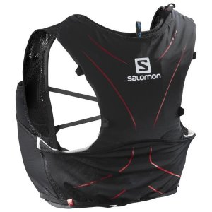 L39483800 ADV SKIN 5 NH BLACK/MATADOR  SALOMON マラソン スポーツ  (SAM)(QBH33)|fieldboss