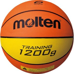 B6C9120 トレーニングボール9120 6号球 molten ボール バスケットボール (MTN)(QBJ37)|fieldboss