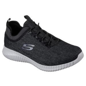 52642-BKGY ELITE FLEX-HARTNELL Black/Gray  SKECHERS メンズ シューズ 靴  (SKS)(QBH33)|fieldboss