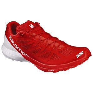 L39176500 S/LAB SENSE 6 RACING RED/WHITE/WHITE  SALOMON 靴 シューズ  (SAM)|fieldboss