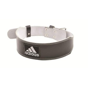 ADGB-12234 レザー ウエイトリフティング ベルト SM  adidas ベルト バーベル  (PRB)|fieldboss
