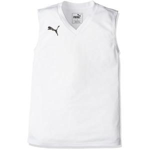 655278-02 ジュニアSLインナーシャツ WHITE プーマ キッズ タンクトップ ジュニア (JSP)(QBJ37) fieldboss