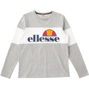EE17313-MX ロングスリーブシャツ Mグレー  エレッセ メンズ ロングTシャツ カットソー  (ELE)|fieldboss