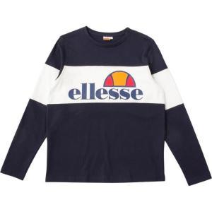 EE17313-NY ロングスリーブシャツ ネイビー  エレッセ メンズ ロングTシャツ カットソー  (ELE)|fieldboss
