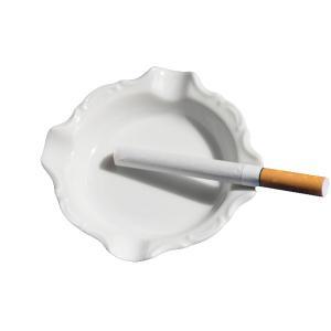 灰皿 白い食器 HZW-3103 ミニアッシュトレー (灰皿 白 陶器 おしゃれ 業務用 )(QCB...
