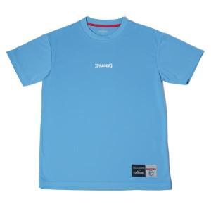 SMT180220-5200 Tシャツ-MESSAGE HANDLING サックス/5200 SPALDING メンズ Tシャツ シャツ (SP)(QBJ37) fieldboss